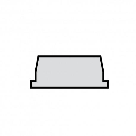 Alèze panneau alvéolaire 38 mm